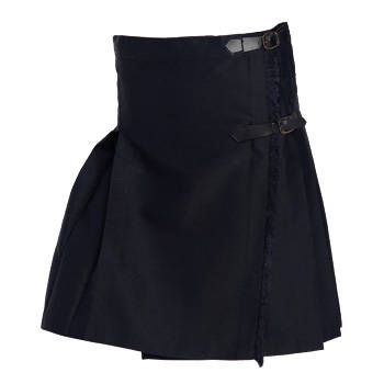 SCHOOL SKIRT WITHOUT STRAPS