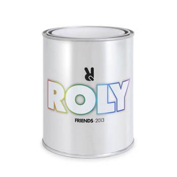 METALLIC TIN ROLY