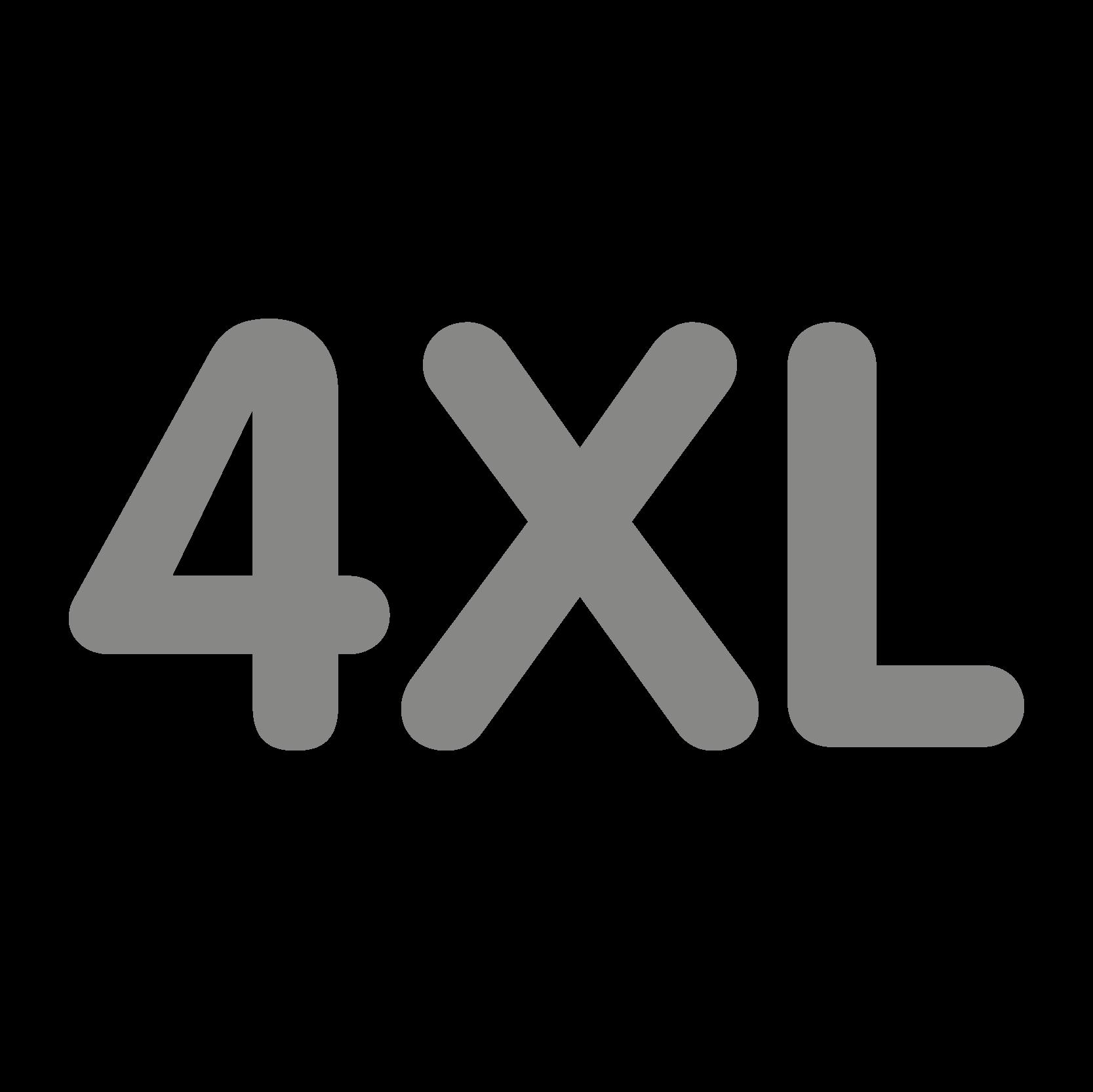 New size 4XL