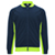 NAVY BLUE/FLUOR GREEN