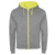 HEATHER GREY/FLUOR YELLOW