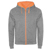 HEATHER GREY/FLUOR ORANGE