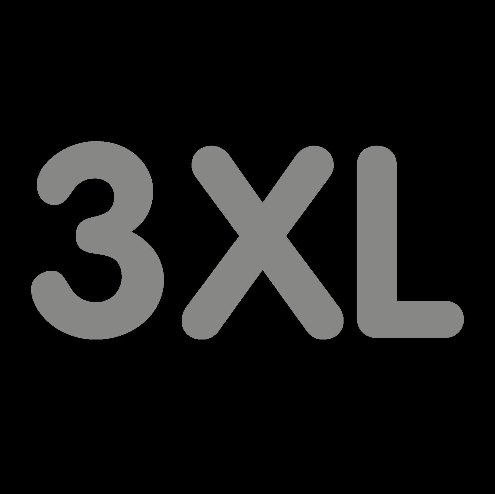 New size 3XL