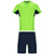 FLUOR GREEN/NAVY BLUE